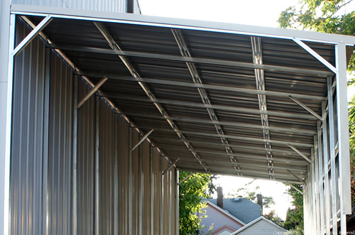 West Coast Metal Buildings Lean To Covers Carports