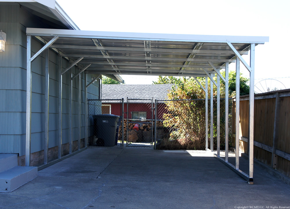 Rv Lean To Carport : West coast metal buildings lean to b carports garages