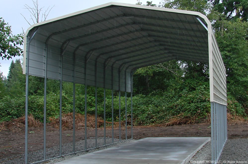 RV Cover A & West Coast Metal Buildings | RV Covers | Carports Garages Barns ...